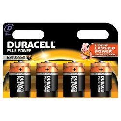 Duracell Plus D-Cell LR20...