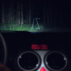 HEAD UP DISPLAY VOOR...