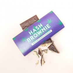 Hash brownie chocolade
