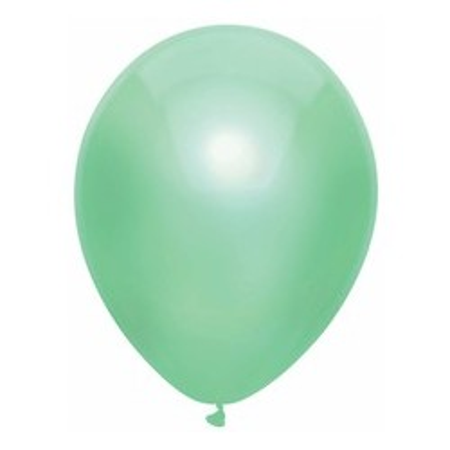 Matellic ballonnen mint