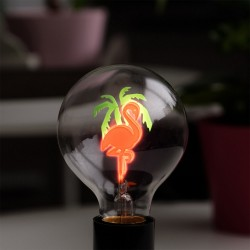 Bitten Flamingo E27 lamp