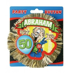 50 jaar abraham 3d button