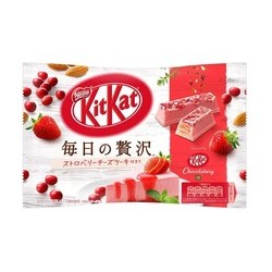 Kit Kat - Luxury Strawberry...