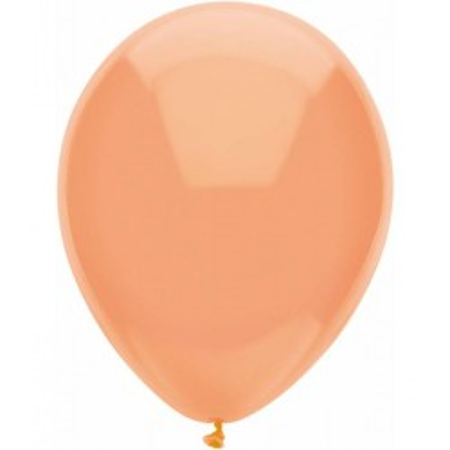 Metallic ballonnen peach