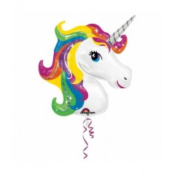 Rainbow Unicorn Folie Ballon