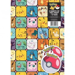 Pokémon Inpakpapier & Labels