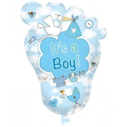 Babyvoetje it's a boy