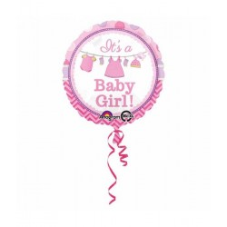 It's a baby girl folieballon