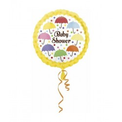 Folie/helium ballon baby shower paraplu's