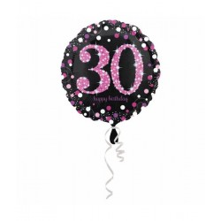 Folieballon 30jaar happy...