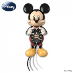 Mickey mouse wandklok