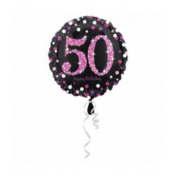 Folie ballon 50 jaar happy...