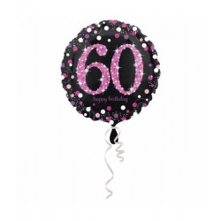 Folie ballon 60 jaar happy...