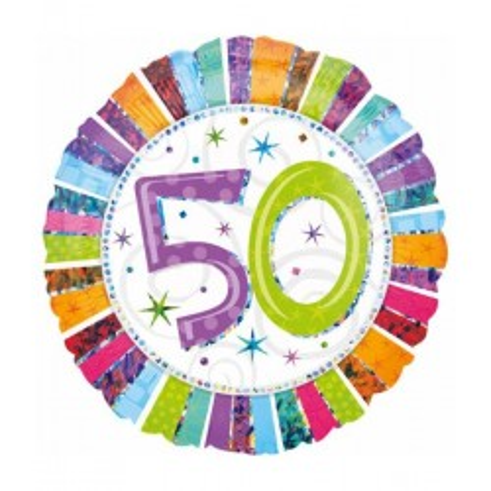 Folie ballon 50 verjaardag