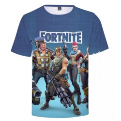 Fortnite shirt blauw