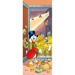 Donald Duck Deursticker –...