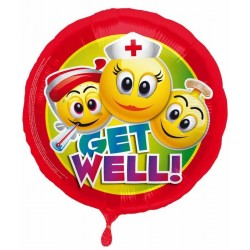 Get well soon smiley...