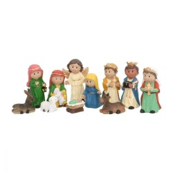 11-delige kerstfiguren set...