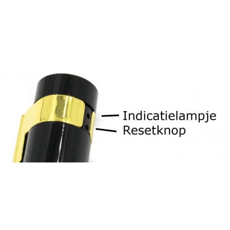 Gouden folie ballon cijfer 0