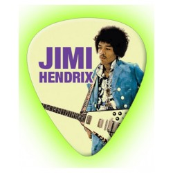 Jimi Hendrix glow in the...