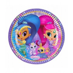 Shimmer and Shine bordjes