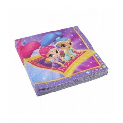 Shimmer and Shine servetten
