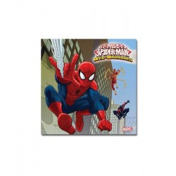 Spider-Man Warriors Servetten