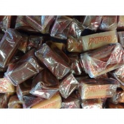 Caramels Vanille Chocolade Soft Toffees 250 Gram