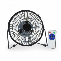 Ventilator met LED tekst –...
