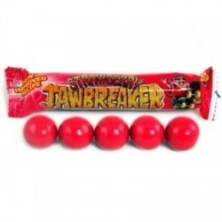 Zed Jawbreaker Strawberry Kauwgomballen.