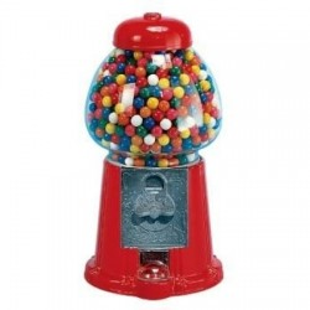 Kauwgomballen automaat...