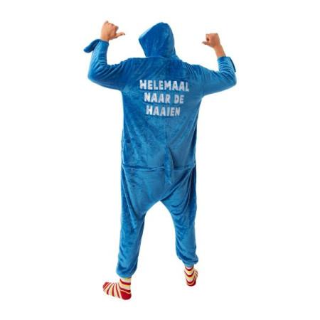 Gouden folieballon cijfer 9