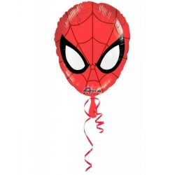 Spiderman helium ballon