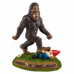 Tuinkabouter met bigfoot