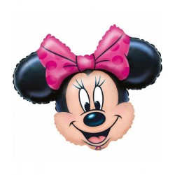 Minnie mouse helium ballon...