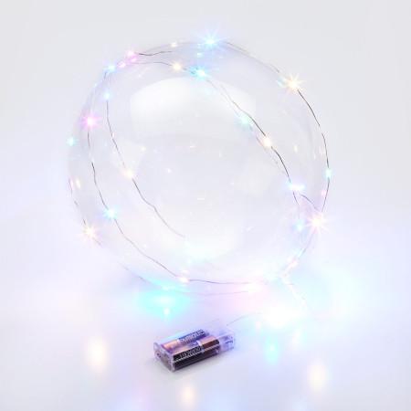Folie ballon hart zilver
