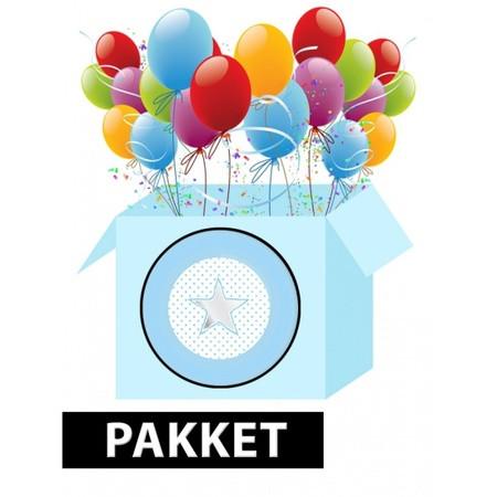 Folie ballon zilver letter...