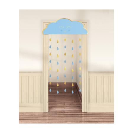 Folie ballon rood letter E