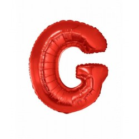 Folie ballon rood letter G