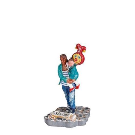Folie ballon goud letter K