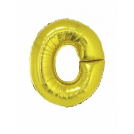 Folie ballon goud letter O